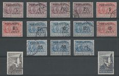 The Netherlands 1907/1951 – De Ruyter postage due stamps and Airmail Seagulls  – NVPH P31/P43 + LP12/LP13