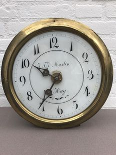 Liege maid's clock – 1870s