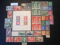 France 1937 – Complete year including PEXIP and Victory of Samothrace, Blocks of 4.