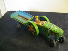 Lot of tin toys Japan - West Germany - 20th century