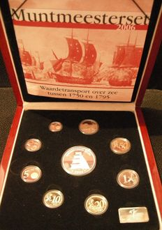 "The Netherlands – year pack/ year collection 2006, ""Coin master set""."