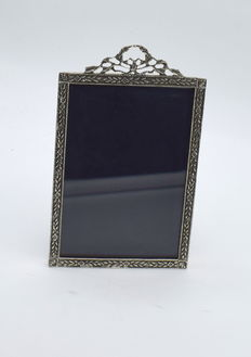 Italian designed sterling silver   photo  frame , international hallmarked 830