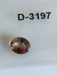 Brown topaze - total of 5.02 ct