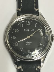 GLYCINE BIENNE wristwatch – 44 mm casing – 1914