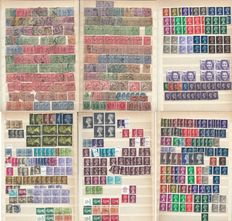 Great Britain 1902/1985  - A Collection on stock pages