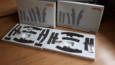 Märklin H0 - 24903/24904 - 2x C-rail expansion set C3 and C4