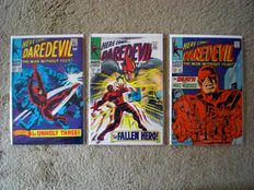 Daredevil Volume 1 - issue 39 + 40 + 41 - 3x sc - (1968)