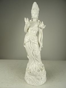 Blanc de chine Guanyin – China – second half 20th century