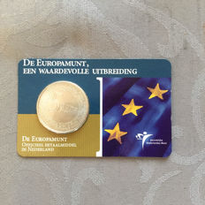 "The Netherlands - 5 Euro coin 2004, ""Europe Coin"" in coin card."