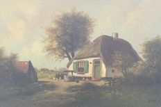 Stegers - Old Dutch landscape