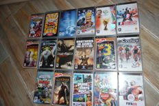 Lot of 17 PSP games with manual.