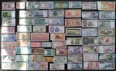 World - Banknote collection of over 200 different banknotes from all across the world