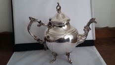 fb rogers silver.co c.1883 trade mark teapot silver plated made in usa.