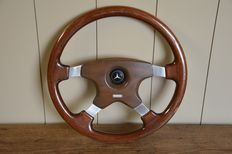 Mercedes - steering wheel - MOMO - made in Italy - late 20th century