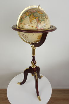 Franklin Mint - The Royal Geographical Society, World Globe - 1 metre in height