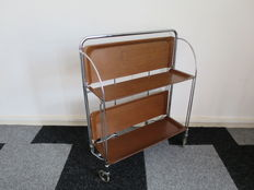 "Bremshey Gerlinol – ""Dinett"" folding drinks trolley"
