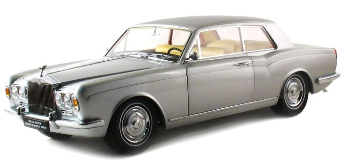 Paragon Models - Scale 1/18 - Rolls-Royce Silver Shadow MPW 2 Door Coupé LHD