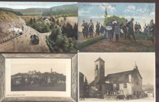 Germany. 170 x old and very old village and city views, Some cards have been sent by military mail (Feldpost)