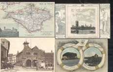 England, Great Brittain, United Kingdom 176x; old and very old village and city views - Including picture postcards