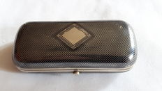 Imperial Russia. Luxury silver cigarette case ladies. The second half 19th century