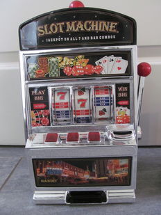 Three slot machines - 21st century