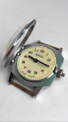 """Raketa """"Designed for the Blind and Vision Impaired"""" - russian men's wristwatch"""