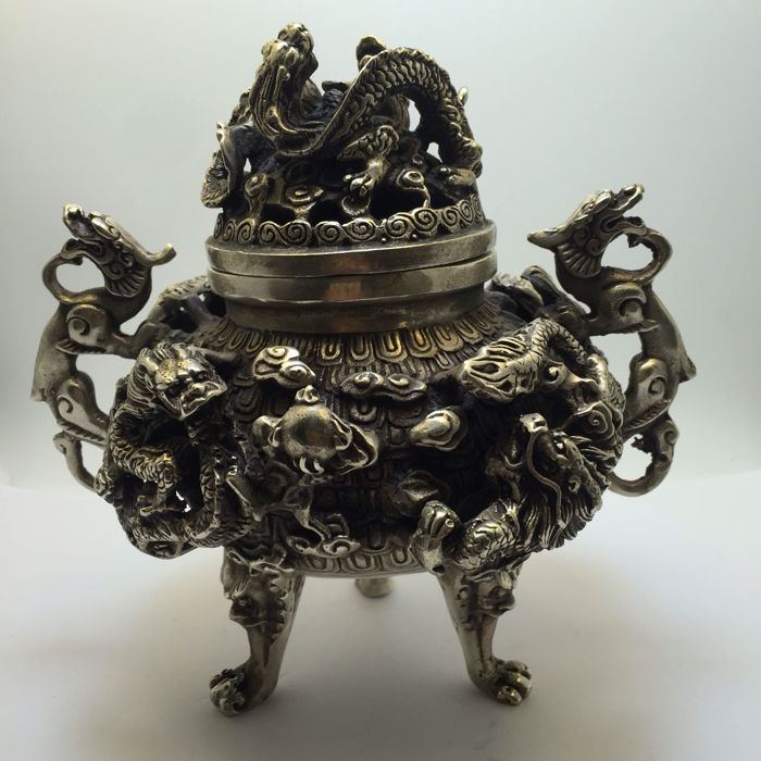Bronze censer - China - 21st century