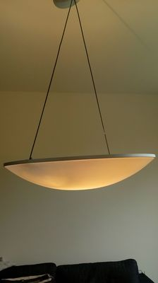Luciano Balestrini and Paola Longhi  for Luceplan – D14 Trama – pendant light