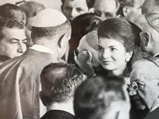 Unknown/Associated Press - Pope Paul 6 and Jackie Kennedy - United Nations - 1965