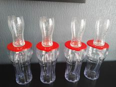 Coca-Cola pitcher and a  set of 24 glasses