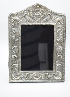 Italian designed sterling silver   photo  frame , international hallmarked 900
