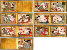 Shunga erotic book (original) - Japan - Early 20th century