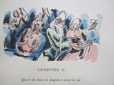 A.-H. Sallengres - Éloge de l'Ivresse. Illustrations by Jo Merry - 1945