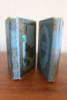Lot of two books on Cicero and Molière - 1889/1890