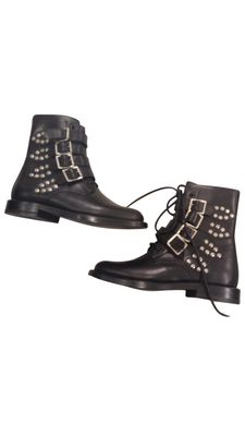 Saint Laurent - biker boots