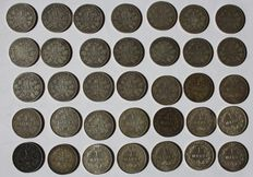Germany - 1 mark 1874 - 1915, 35 pieces