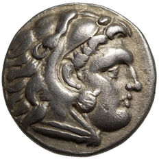 Ancient Greece - Macedonia - Alexander III. the Great (336-323 BC) AR Drachma, Sardes, around 334-323 BC.