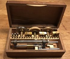 Lorch Polishing tools for watchmakers. Germany. Approx. 1900.