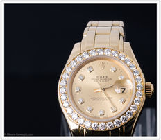 Rolex – Day Date Pearlmaster – Ladies' – 1995