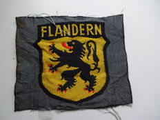 3rd Reich volunteer sleeve badge Flanders