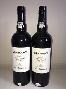 2007 Vintage Port Graham's  – 2 bottles 0.75L