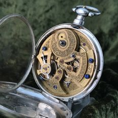 Men's pocket watch for the Chinese market – approx. 1870