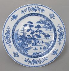 Plate - China - early 19th century