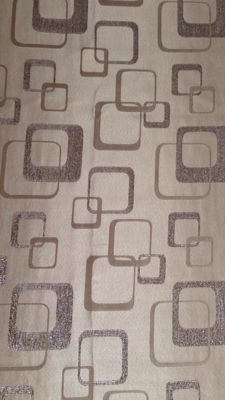 Unknown designer – Spage Age golden Damask fabric
