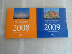 The Netherlands - Year collections 2008 and 2009 'Day of the Coin'