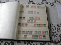 World - 9 books with stamps