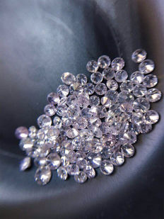 Natural Fancy Pink diamond lot 1.00 ct No Reserve