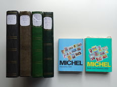Africa - Collection in 4 stockbooks + matching Michel catalogues