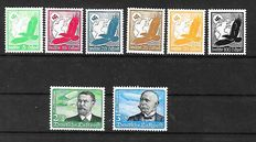 German Empire 1926 - A small selection on stock card