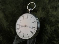 Pocket watch with central second hand – 1888